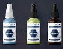 Spray Mist Bottle Mock-up