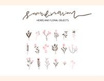 Scandinavian - Herbs and florals