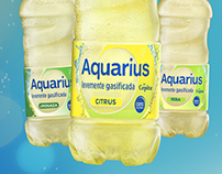 Aquarius levemente gasificada