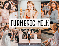 Free Turmeric Milk Mobile & Desktop Lightroom Preset