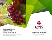 Sapec Agro Italia Trifold Brochure