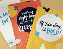 Project Celebrate - Cards for Colleagues