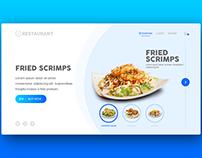Website UI - Restaurant