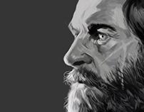 Face Study|Logan/Hugh Jackman