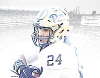 2015 Pitt Football Schedule Poster Concept