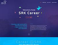 SRK Career Page Design