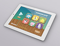 Sonomage - Interface d'application mobile