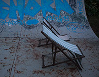 RVCA skate team @ Element Called Water surf camp.