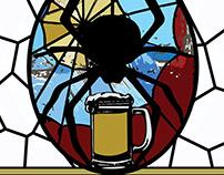 Abbey Albert's Ale Craft Beer Label