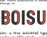 Boisu free font