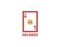 KING BURGER Logo Concept