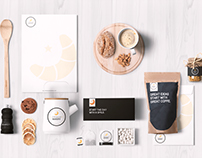 To the moon and Bakery | Bakery Branding