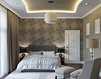 Interior 3D Render of a Bedroom in Nice, France
