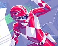 Mighty Morphin Power Rangers 2016 Annual Cover