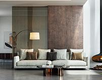 Minotti living room
