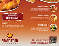 Fast-Food/Food Flyer
