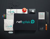 NetAptek | Medical Logo Design