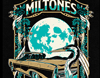 The Miltones T-shirt Design