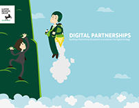 Lloyds Banking Group - Digital Partnership Poster