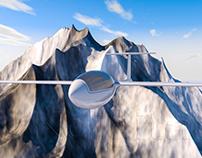 3D Glider Plane