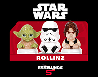 Infographic Rollinz StarWars for Esselunga
