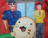 Personagens - Aquarela | Characters - Watercolor