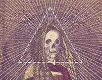Poster - Skull woman
