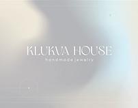 Klukva house - handmade jewelry. Identity