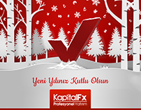 New Year Design for IŞIKFX & KapitalFX