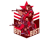 BUY BUST Illustration