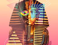 "Egypt The Future ""NewPharaohs"" Poster ""Tutankhamun"""