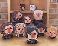 Games Of Thrones Paper Toys