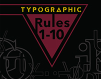 Typographic Rules Book