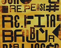 Re.fita - Transmedia Magazine + Wood Type