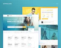 Redesign site Empregare.com