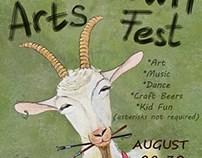 Poster Bucktown Art Fest