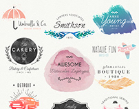 Best Logo Design | Watercolor Logo Design | Byteknight