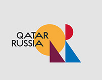 QATAR / RUSSIA Year of Culture / concept