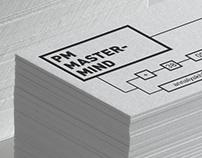 Визитка для проджект-менеджера Анны Лях