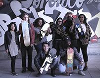 Oasis Skateboard Factory & LIVE Artist Gifting Program