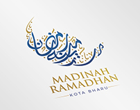 Madinah Ramadhan Arabic Logo Design