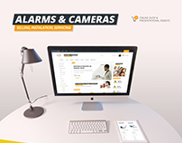 Security Systems - Alarms and Cameras eCommerce