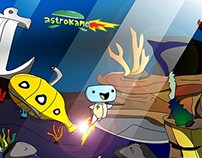 Astrokame Character & Sprites