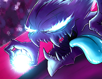 Haunter Pokemon Fanart