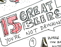 Wellbeing - 15 Beers you're Not Drinking