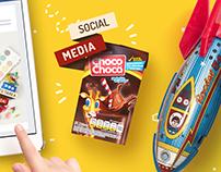 Social Media Ads. Choco Choco