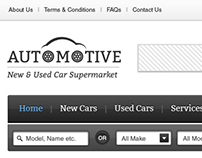 Automotive - Automobile Listing WordPress Theme UI/UX
