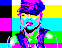 Justify My Love' Madonna Test Card
