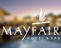 Mayfair Hotel & Spa Marketing Material