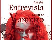 Proposta de capa para o livro Entrevista com o vampiro